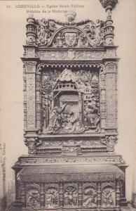 Abbeville ,France, 00-10s ; Eglise Saint Vulfran , Retable de la Nativite