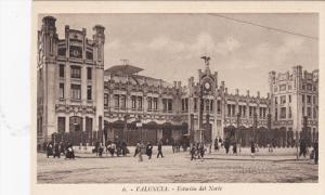 VALENCIA, Comunidad Valenciana, Spain, 1900-10´s; Estacion Del Norte