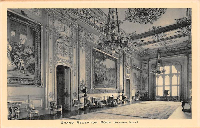 Windsor Castle Grand Reception Room (Second 2nd View)