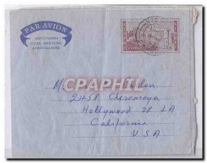 Cyprus Cyprus Als 5 LF11 used aerogram aerogramme (postal stationary stationa...
