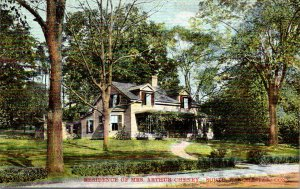 Connecticut South Manchester Residence Of Mrs Arthur Cheney