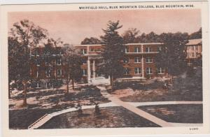 Whitfield Hall, Blue Mountain College , BLUE MOUNTAIN, Mississippi, 1930-40s