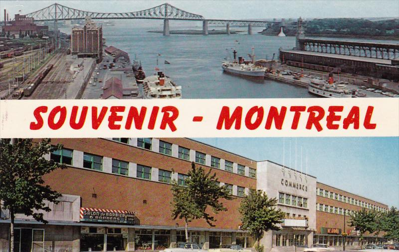 Comerce Building, Jacques Cartier Port, MONTREAL, Quebec, Canada, 40-60´s