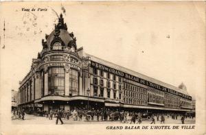 CPA AK PARIS (4e) - Grand Bazar de L'Hotel de Ville (218960)