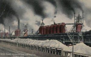 Steel Plant , Colorado Fuel & Iron Co. , PUEBLO , Colorado , 00-10s