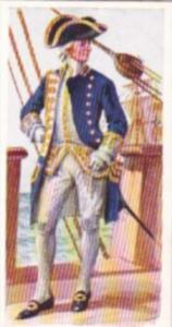 Carreras Vintage Cigarette Card Naval Uniforms No 20 Admiral 1782