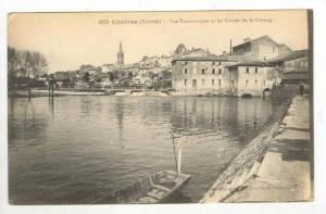 Vue Panoramique Et Les Chutes De La Dronne, Coutras (Gironde), France, 1900-1...
