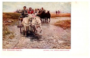 The Wedding Party, Hores drawn Wagons