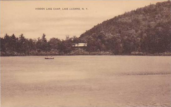 Hidden Lake Camp, Lake Luzerne, New York,  00-10s