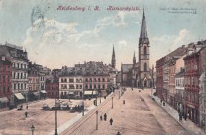 B78897 reichenberg liberec czech republic bismarck square  front/back image