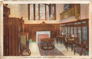F15/ Birmingham Alabama Postcard c1915 Ladies Room Tutwiler Hotel