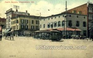 Public Square Hagerstown MD 1913
