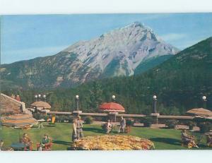 Unused Pre-1980 TERRACE GARDENS AT BANFF SPRINGS HOTEL Banff Alberta AB B0797