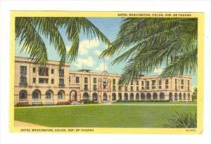 Hotel Washington, Colon, Republica De Panama, 1930-1940s