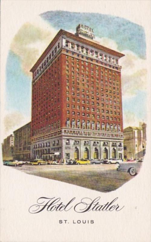 Missouri St Louis Hotel Statler