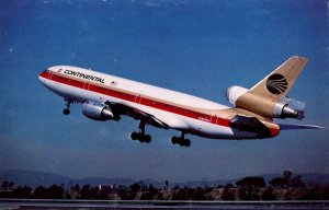 Continental Air Lines - McDonnell Douglas DC-10 (Airline Issued)