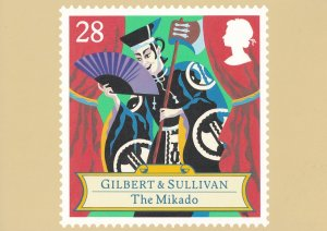 Gilbert & Sullivan The Mikado Opera Limited Edition Postcard