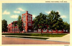 Flint, Michigan - A view of Central High School
