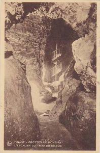Grottes De Mont-Fat, L'Escalier Du Trou Du Diable, Dinant (Namur), Belgium, 1...