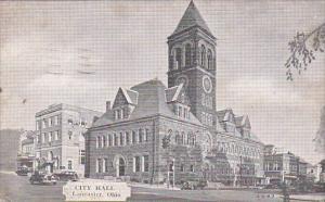 Ohio Lancaster City Hall 1944