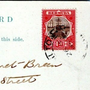 Bermuda Postcard 1905 Frascati Hotel Undivided Back MU