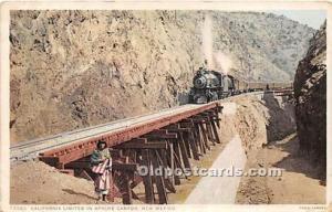 Publisher Fred Harvey Postcard series 79085 Unused