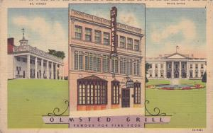 WASHINGTON DC , 30-40s , Olmsted Grill