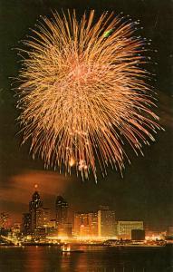 MI - Detroit. Fireworks