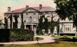 Vtg Postcard c 1908 Fredericton NB Canada Old Government House Canada