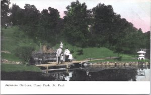 St Paul Minnesota Japanese Garden Como Park