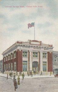 CEDAR FALLS , Iowa, 1900-10s ; Citizens Savings Bank