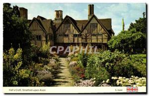 Postcard Modern Hall & # 39s Croft Stratford Upon Avon