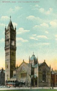 MA - Boston. New Old South Church