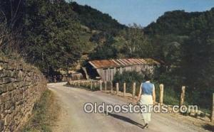 Scofield, Brown Co, OH USA Covered Bridge Postcard Post Card Old Vintage Anti...