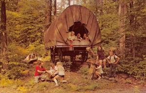 Pair Of Camp Eder Fairfield Pennsylvania Wagon Antique Postcards K39468