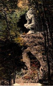 Pennsylvania Philadelphia Fairmount Park Indian Rock