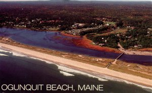 ME - Ogunquit Beach, Aerial View