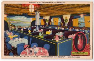 Riviera Restaurant, San Francisco CA