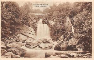 Inversnaid Falls Loch Lomond Waterfall Bridge