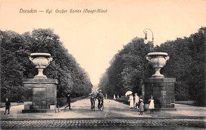 Kgl Graber Garten Dresden Germany Unused