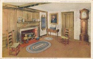 Lexington MA, Massachusetts - Munroe Tavern - Bar Room from 1696 to 1858 - DB