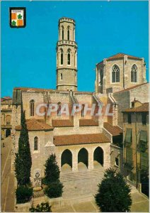 Postcard Modern Figueres The parish church St Pierre