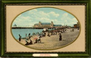 UK - England, Southsea. South Parade Pier