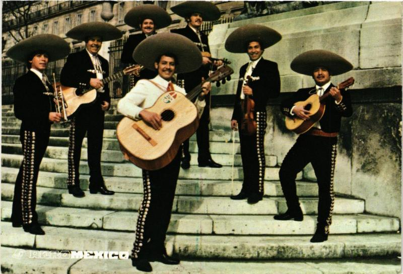 CPM France - Folklore - Mexican Musicians - Rero Mexico (770287)