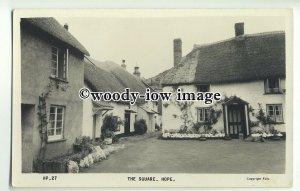 tp9961 - Devon - Whitewashed Cottages in the Square of Hope Village - Postcard