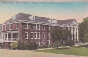 North Carolina Greensboro Spencer Hall Univ Of North Carolina Albertype