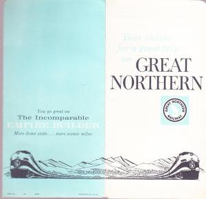 Great Northern Railway - Ticket Envelope