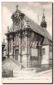 Old Postcard Nevers The chapel of the XVIII Visilation