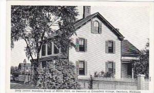 Michigan Dearborn Sally Jordan Boarding House of Menlo Park Curteich