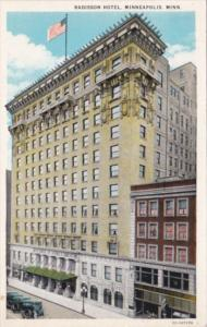 Minnesota Minneapolis Radisson Hotel Curteich
